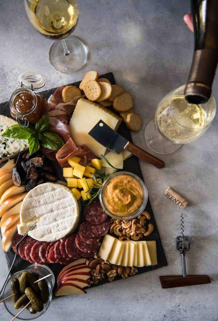 cheese board charcuterie