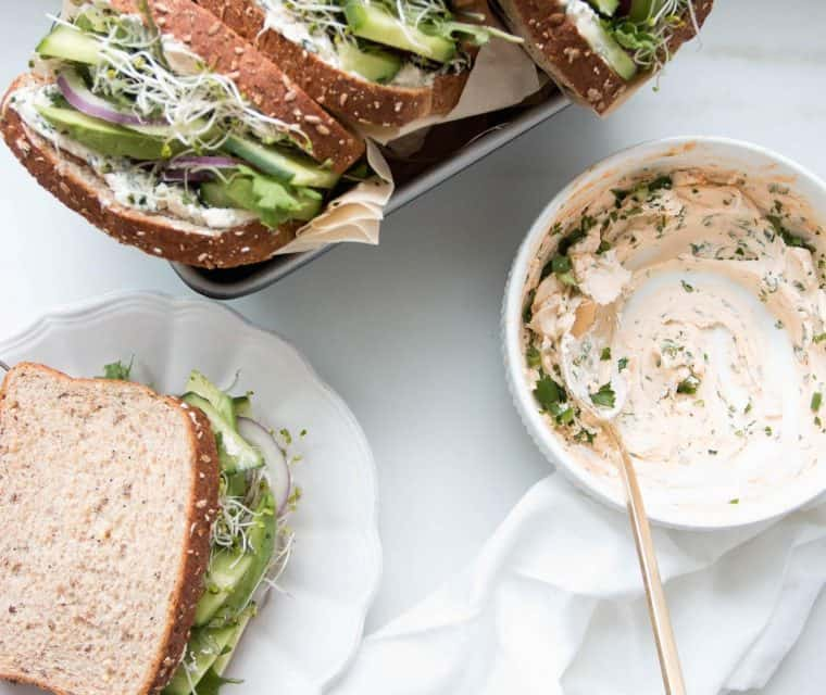 green sandwich recipes
