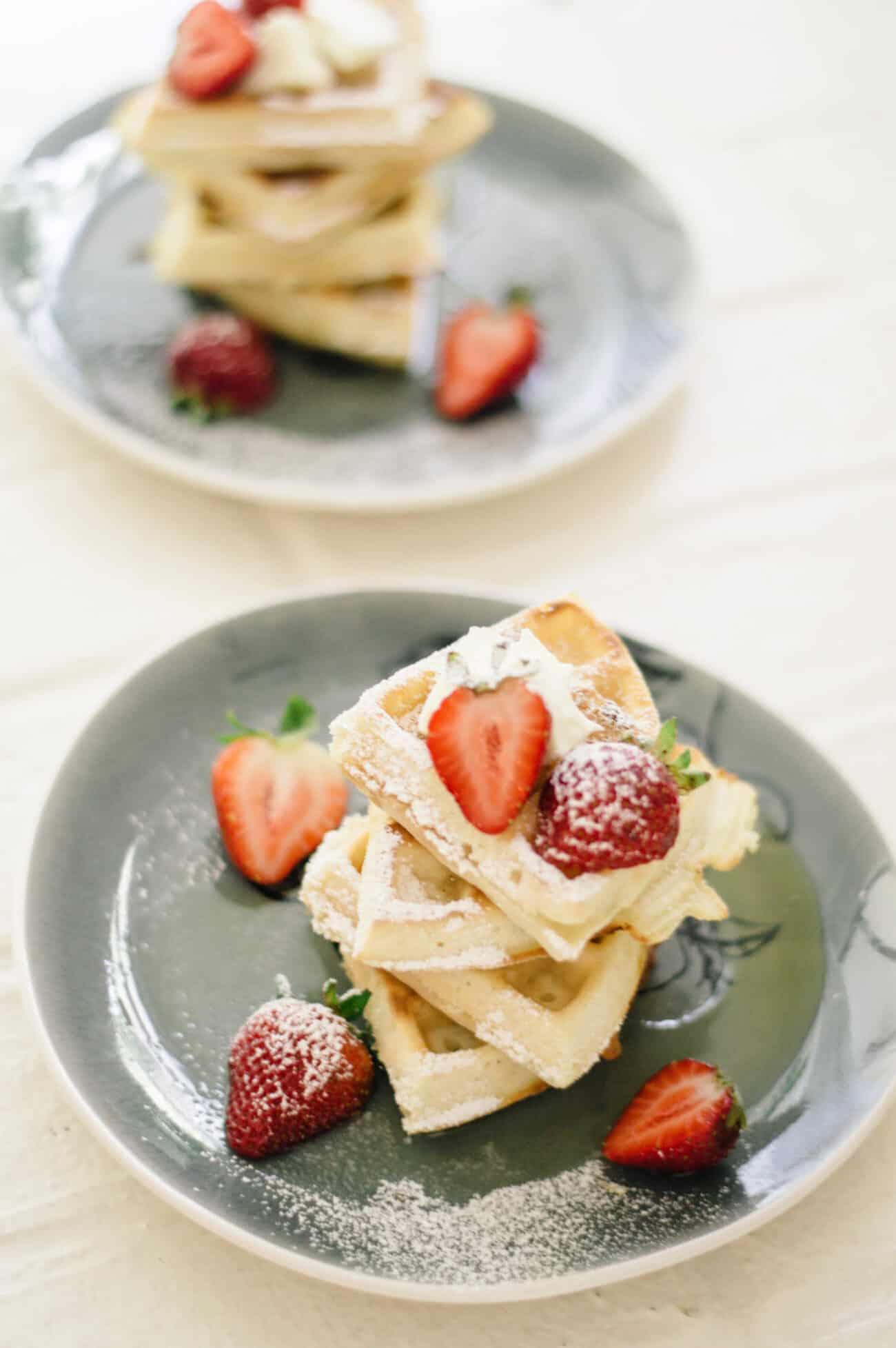 belgian waffle recipe