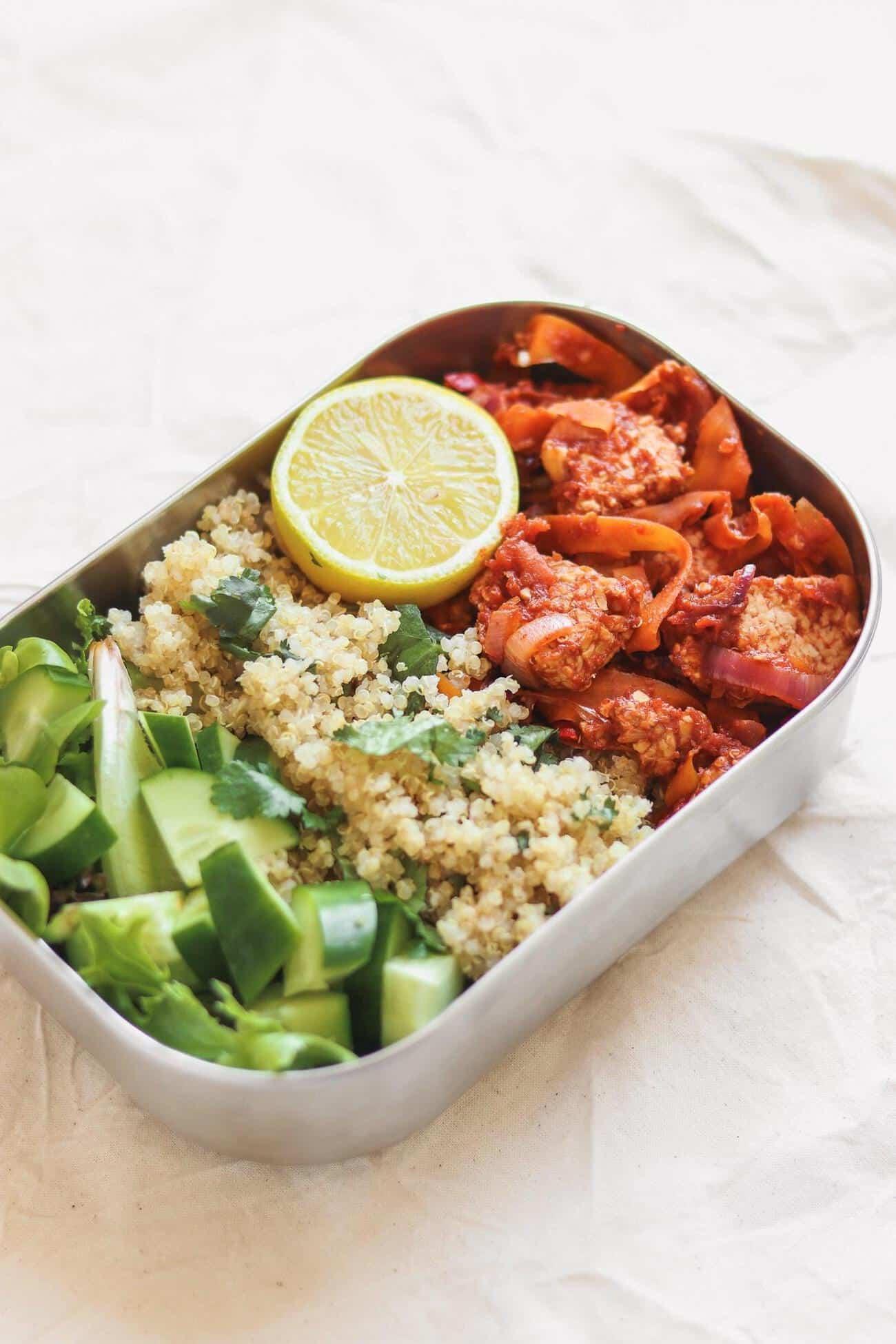 vegan meal prep