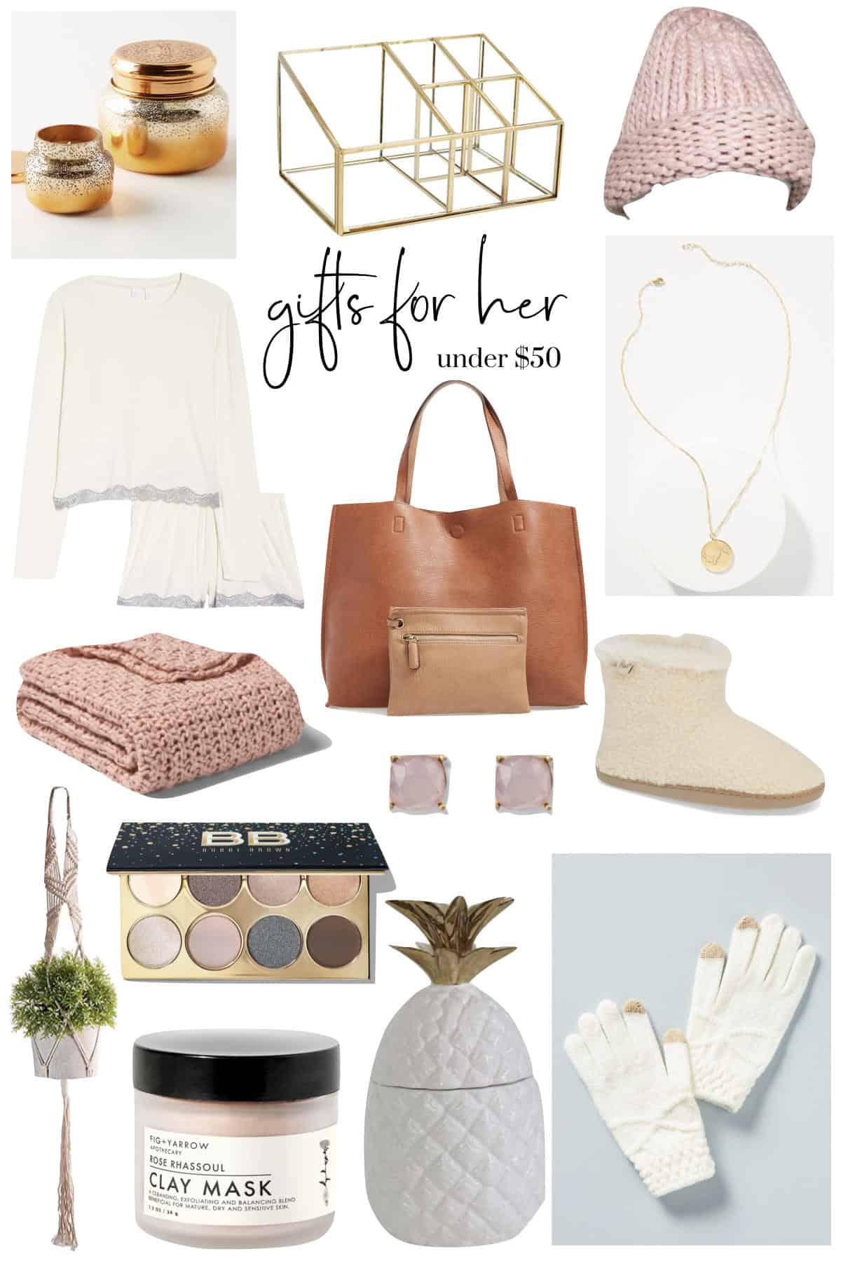 Gifts For Her Under 50 $ | Gift Guide - An Unblurred Lady