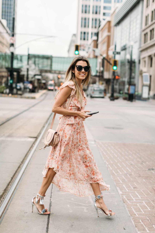 spring floral dresses