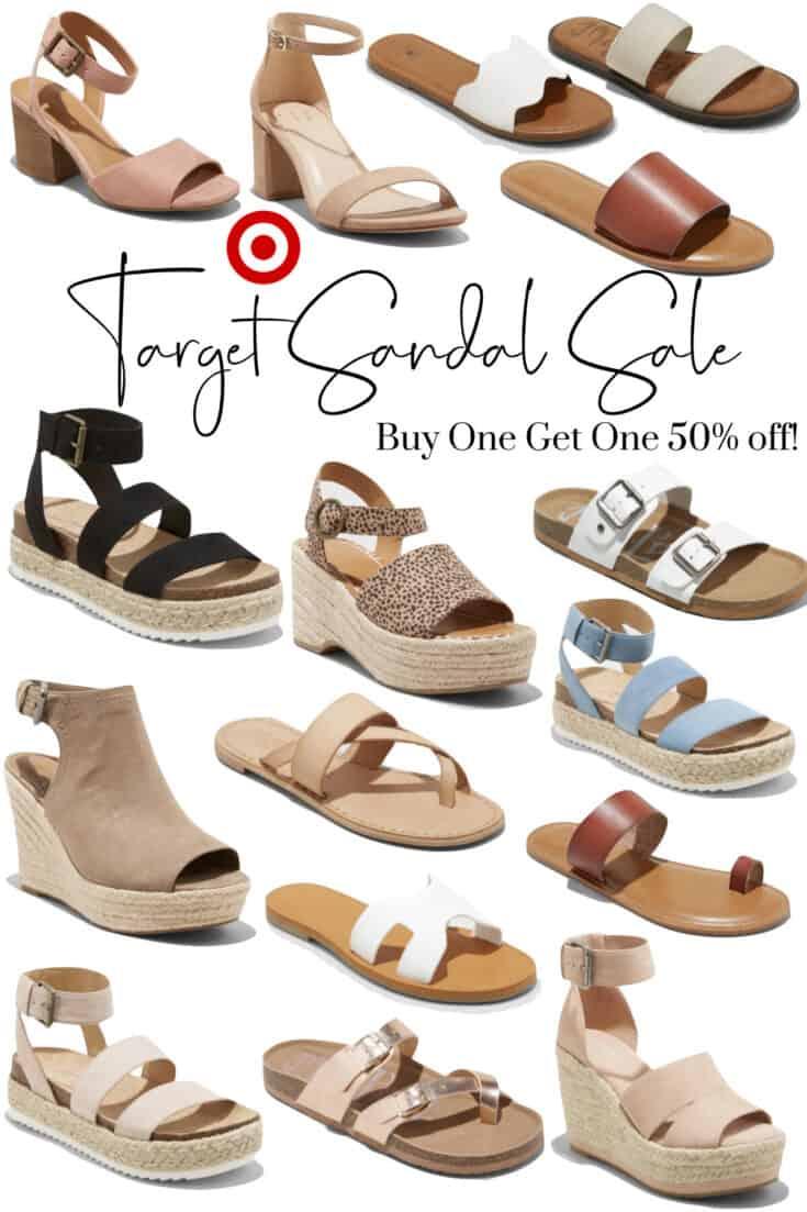 Target Sandal Sale