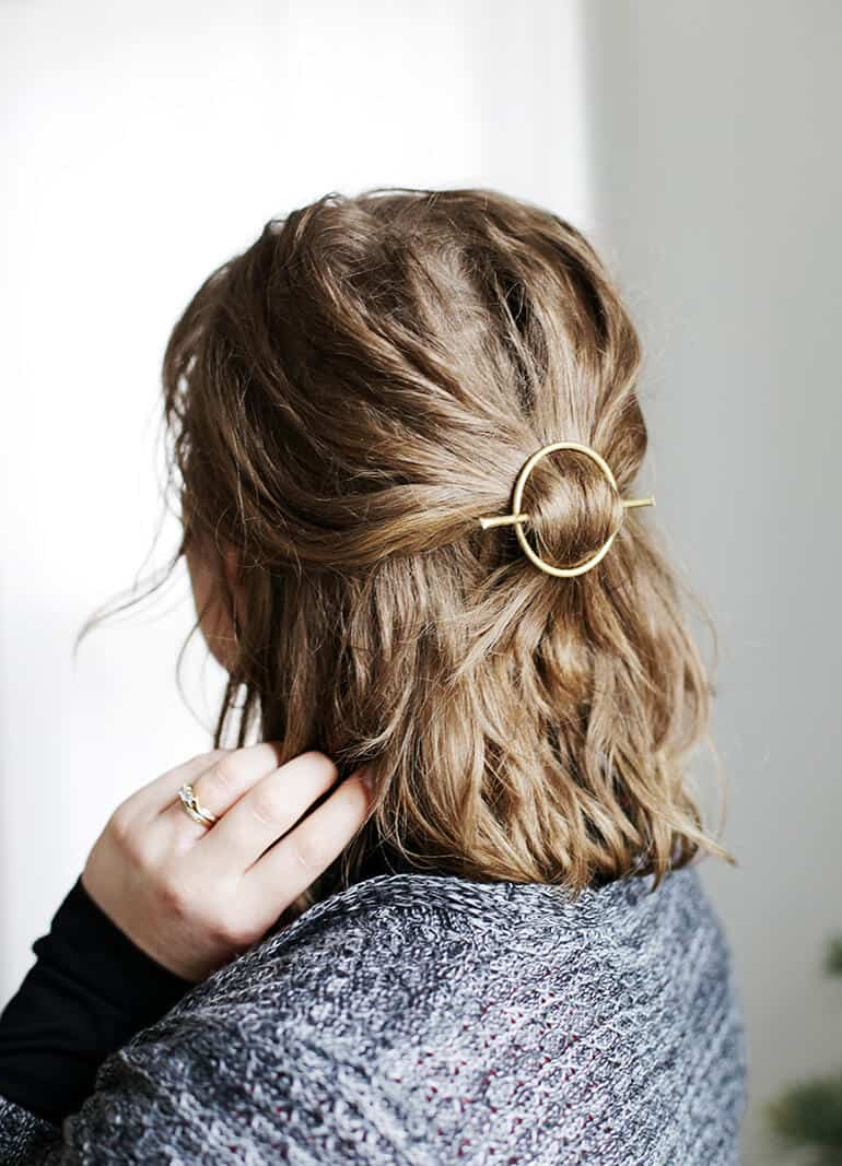 Circle Hair Accessories to Spice Up Your Hairstyles