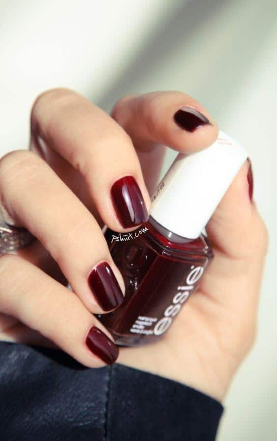 10 Popular Red Fall Nail Colors for 2019