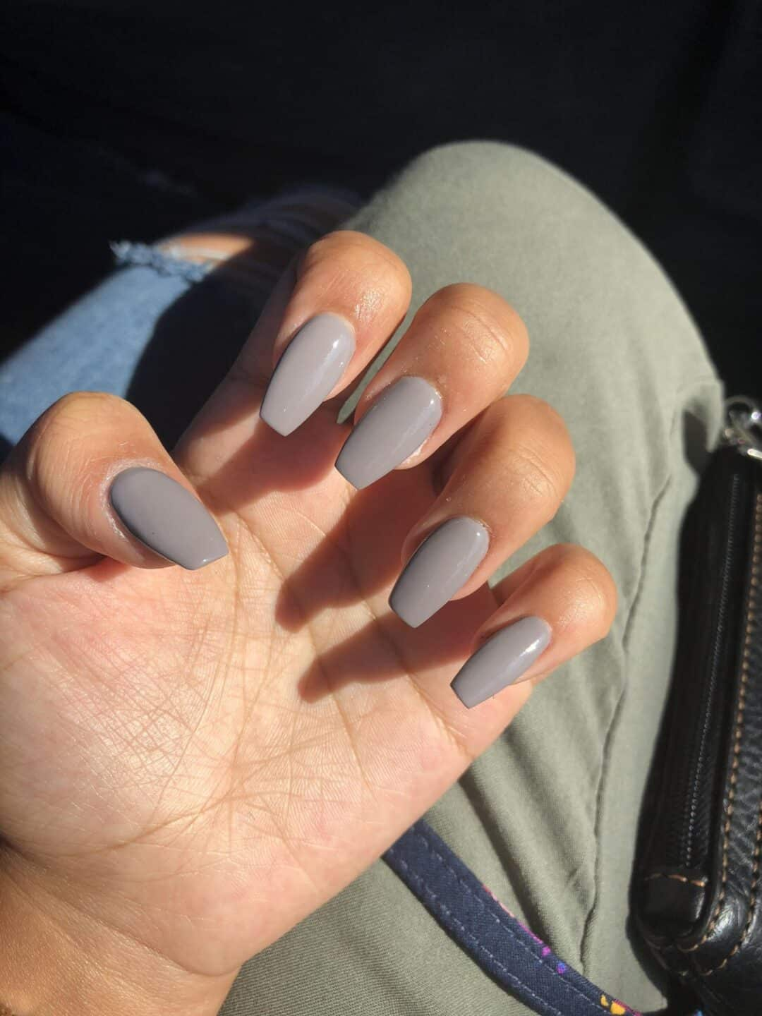 10 Popular Grey Fall Nail Colors for 2019