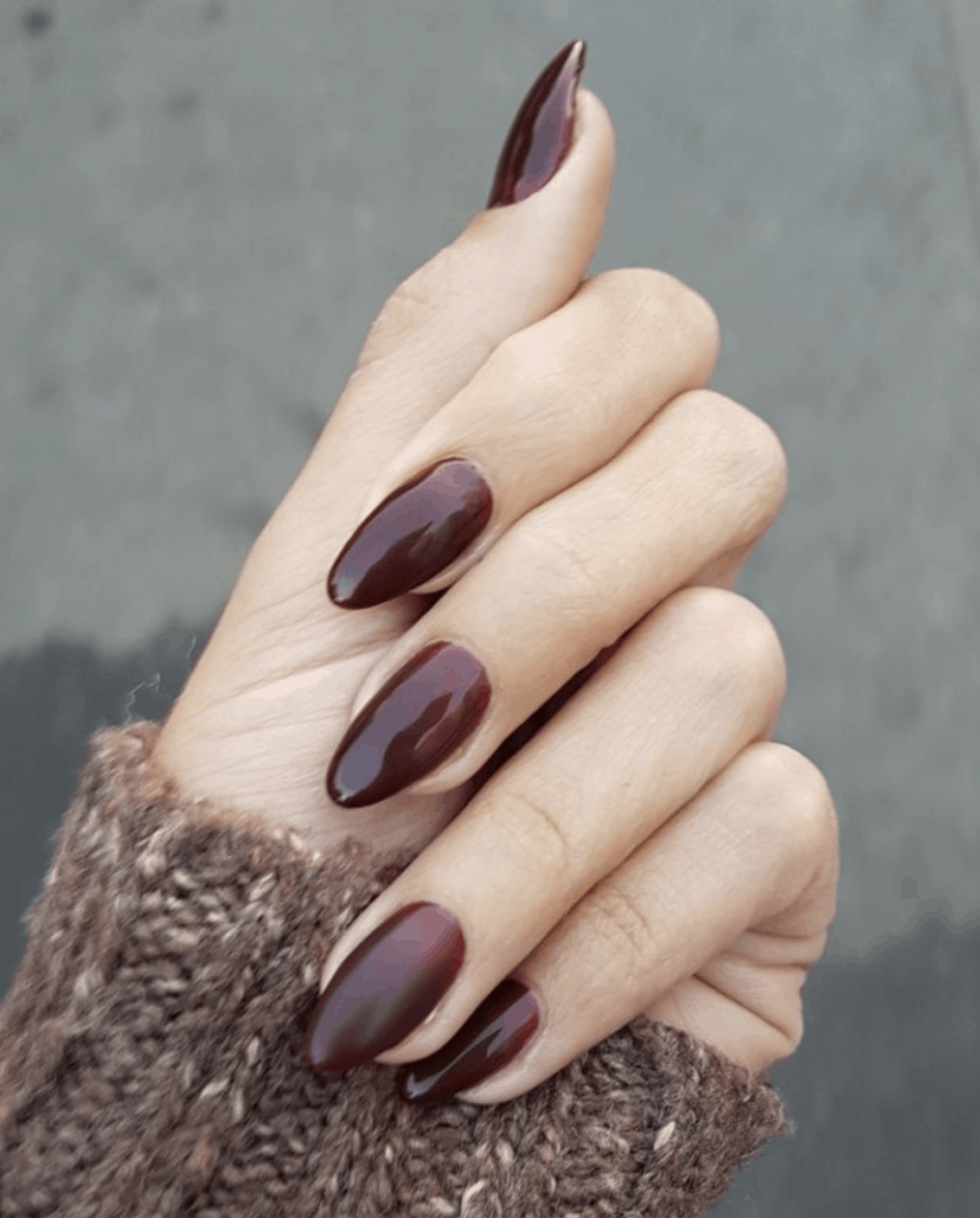 10 Popular Burgundy Fall Nail Colors for 2019