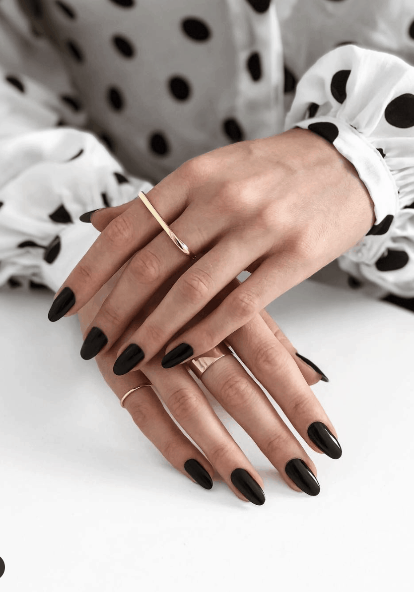 10 Popular Black Fall Nail Colors for 2019