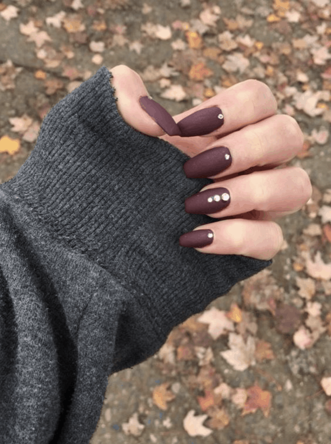 10 Popular Purple Fall Nail Colors for 2019