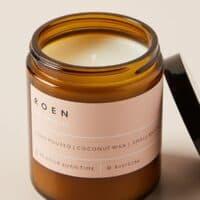 ROEN Amber Jar Candle