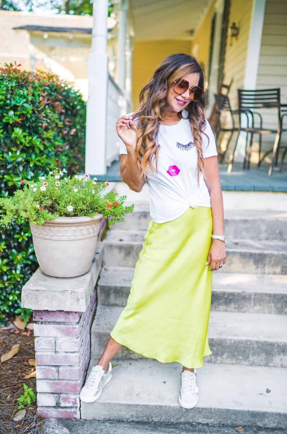 Fall Midi Skirt Outfit Ideas for 2019