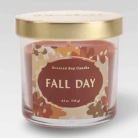 4.1oz Lidded Glass Jar Candle Fall Day - Opalhouse™