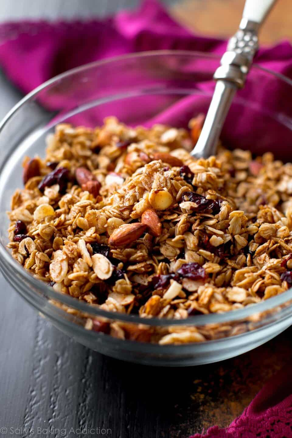19 Granola Recipes that are Ideal Snacks