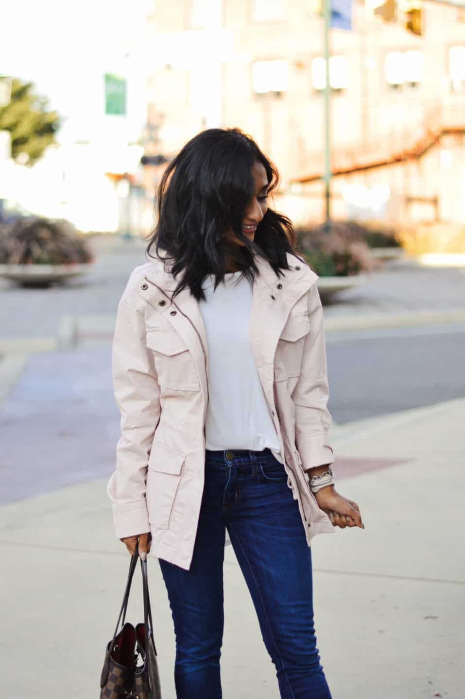Utility Jacket Outfit for the Spring