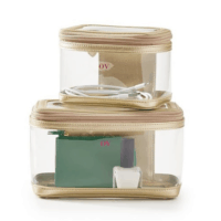 Clear Nesting Pouches, Set of 2