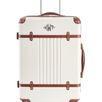 Trendy Luggage in White