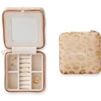 Travel Jewelry Case, Small, Orange