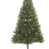 6ft Pre-lit Artificial Christmas Tree Alberta Spruce Clear Lights