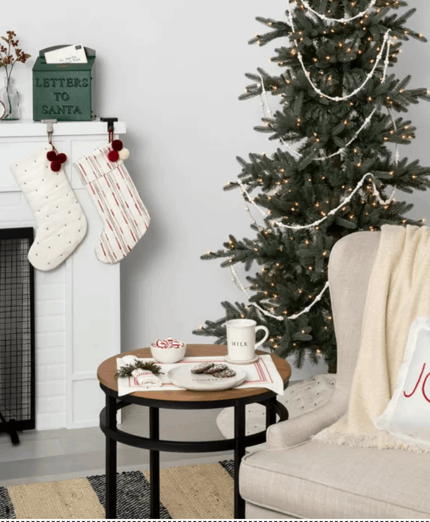 Target Christmas Home Decor Under $100