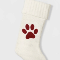 Knit Paw Christmas Stocking