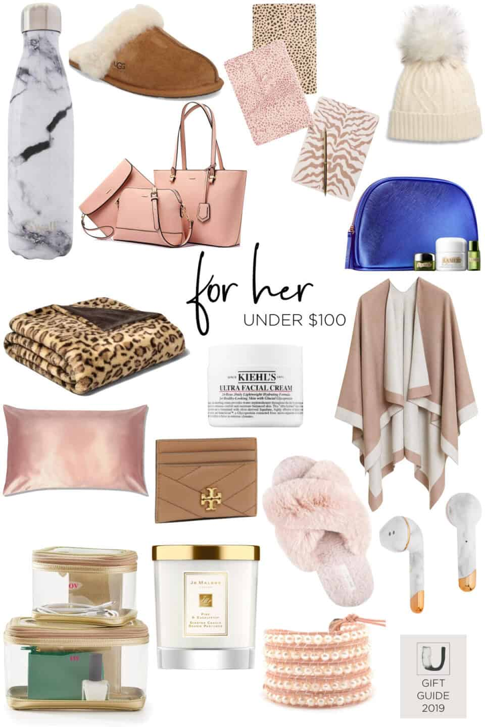 Gift Guide for Her Under $100 // 2019
