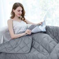 ZZZhen Weighted Blanket - High Breathability