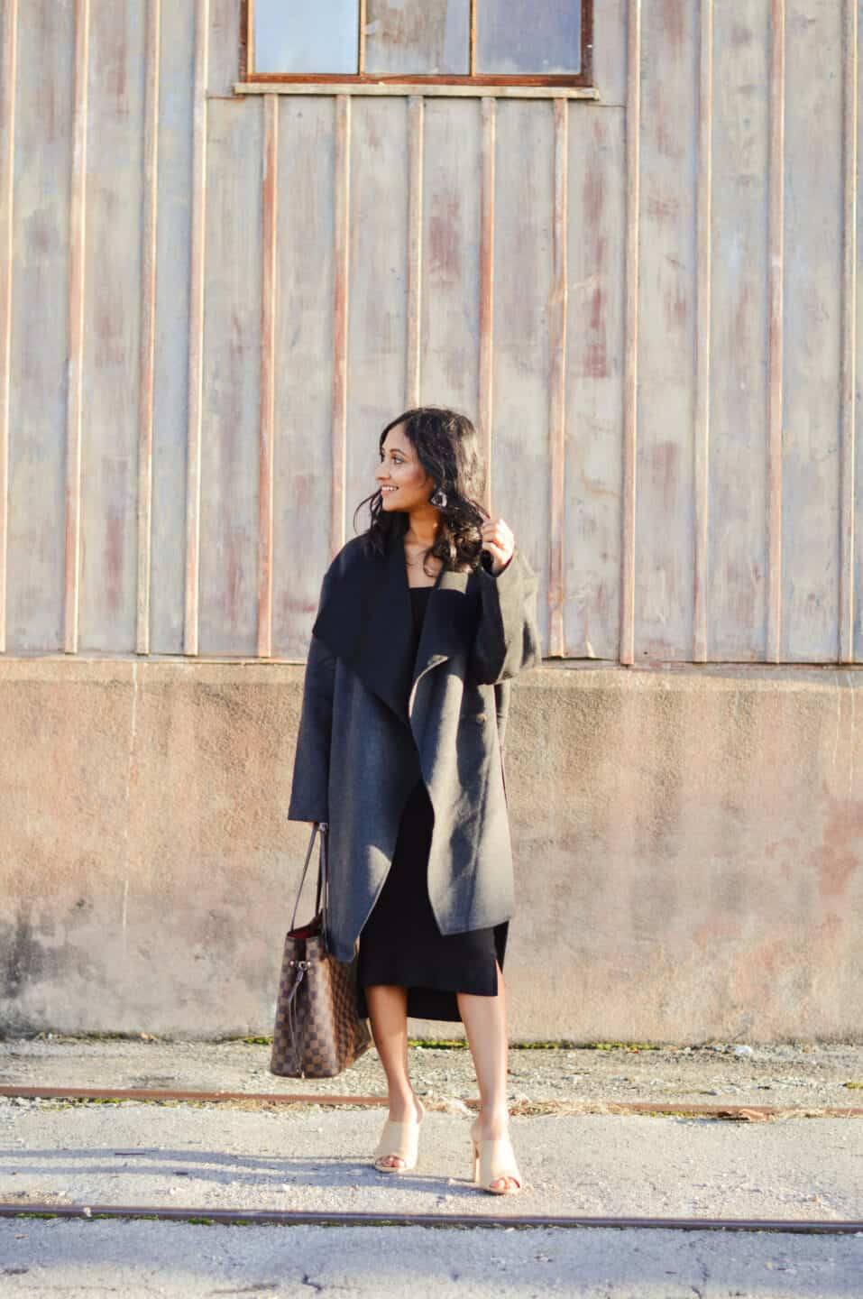 Tailored Wool Coat Outfit
