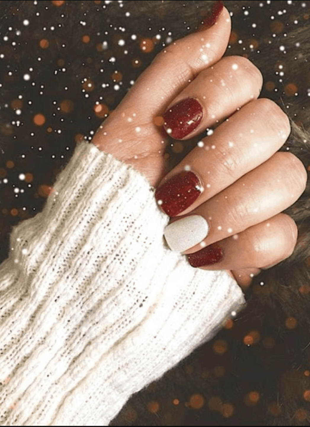Red Holiday Nail Ideas for 2019