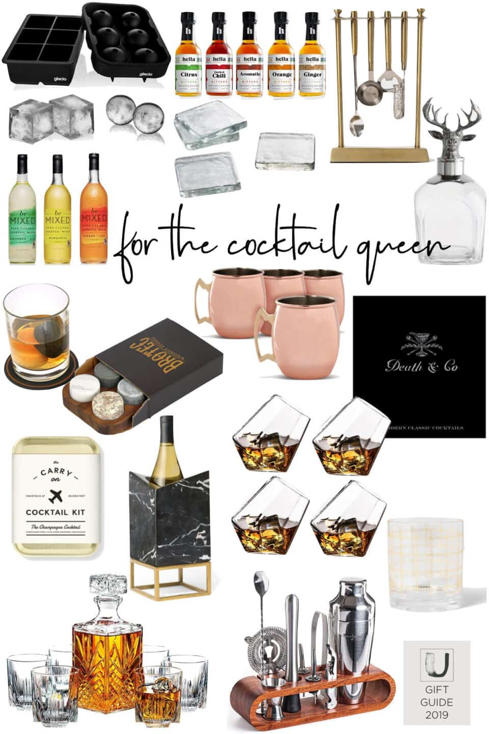 Gift Guide for the Cocktail Lover // 2019