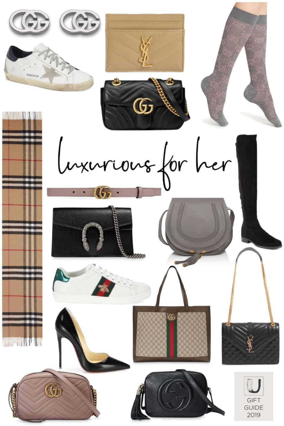 Splurge-Worthy Gift Guide for the Luxurious Lady //2019