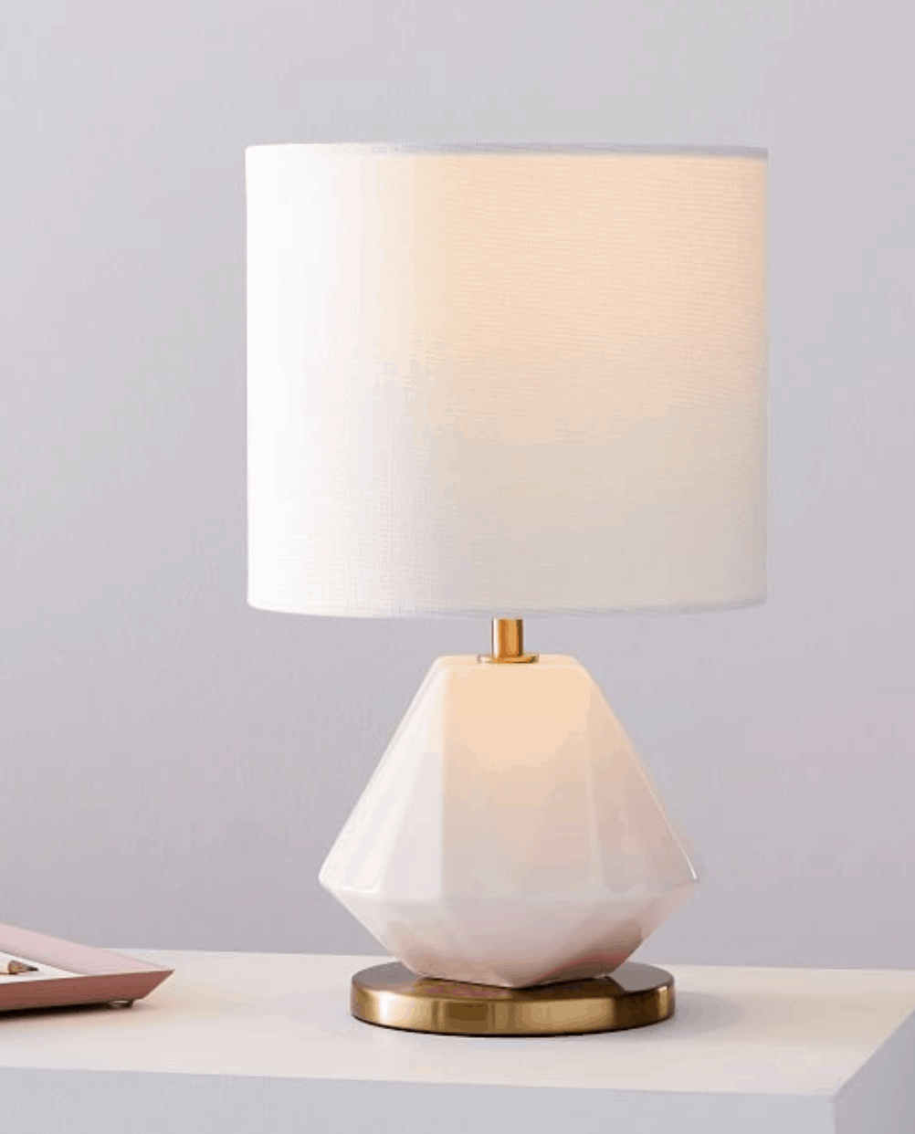 15 Gorgeous Table Lamps under $100 // Jeweled Faceted Porcelain Table Lamp