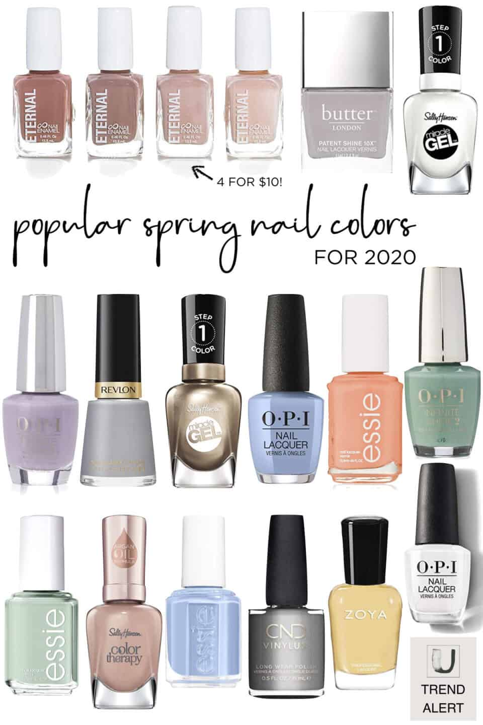 Spring Nail Colors for 2020