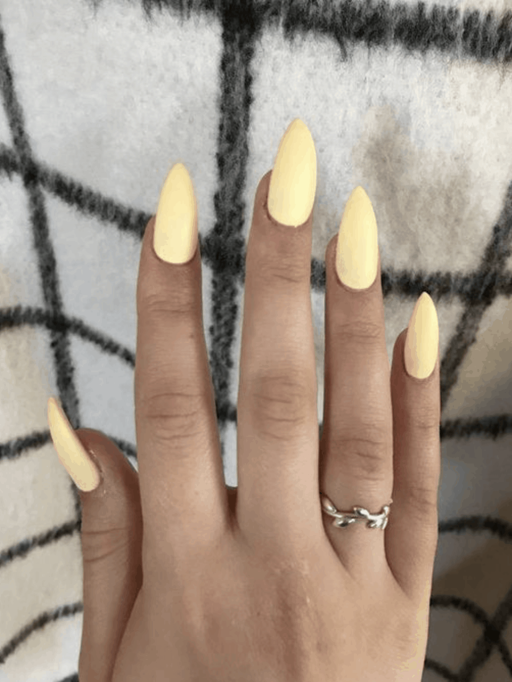 Spring Nail Colors for 2020 // Pastel Yellow