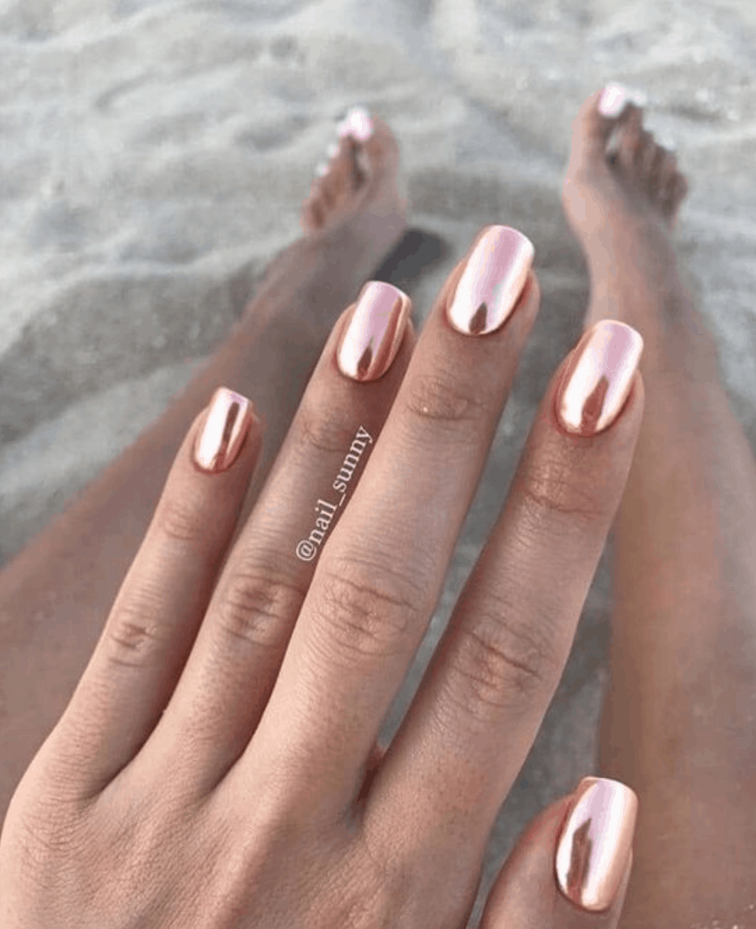 Spring Nail Colors for 2020 // Chrome Metallics