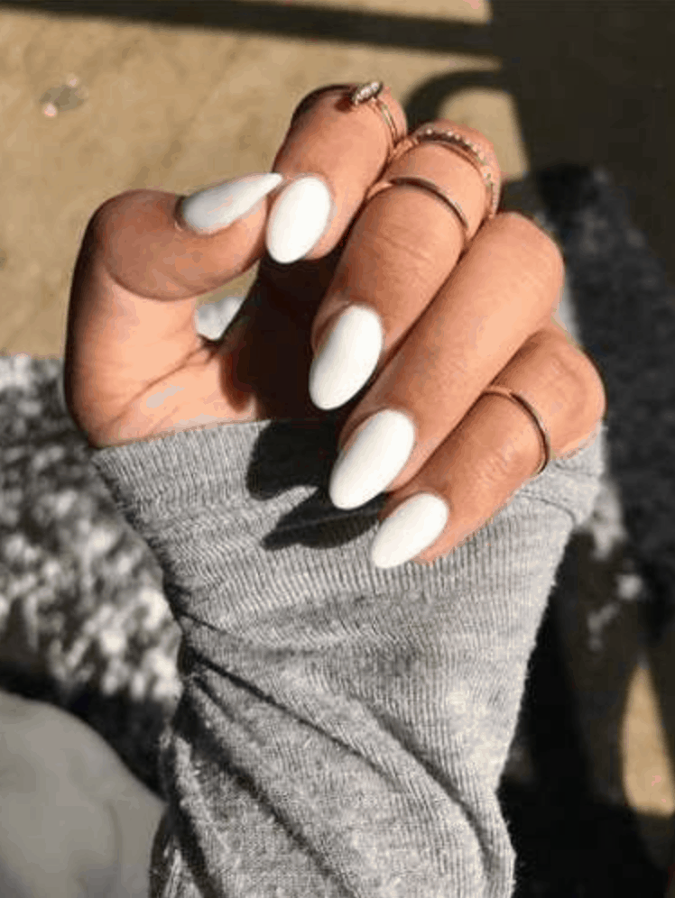 Spring Nail Colors for 2020 // White out