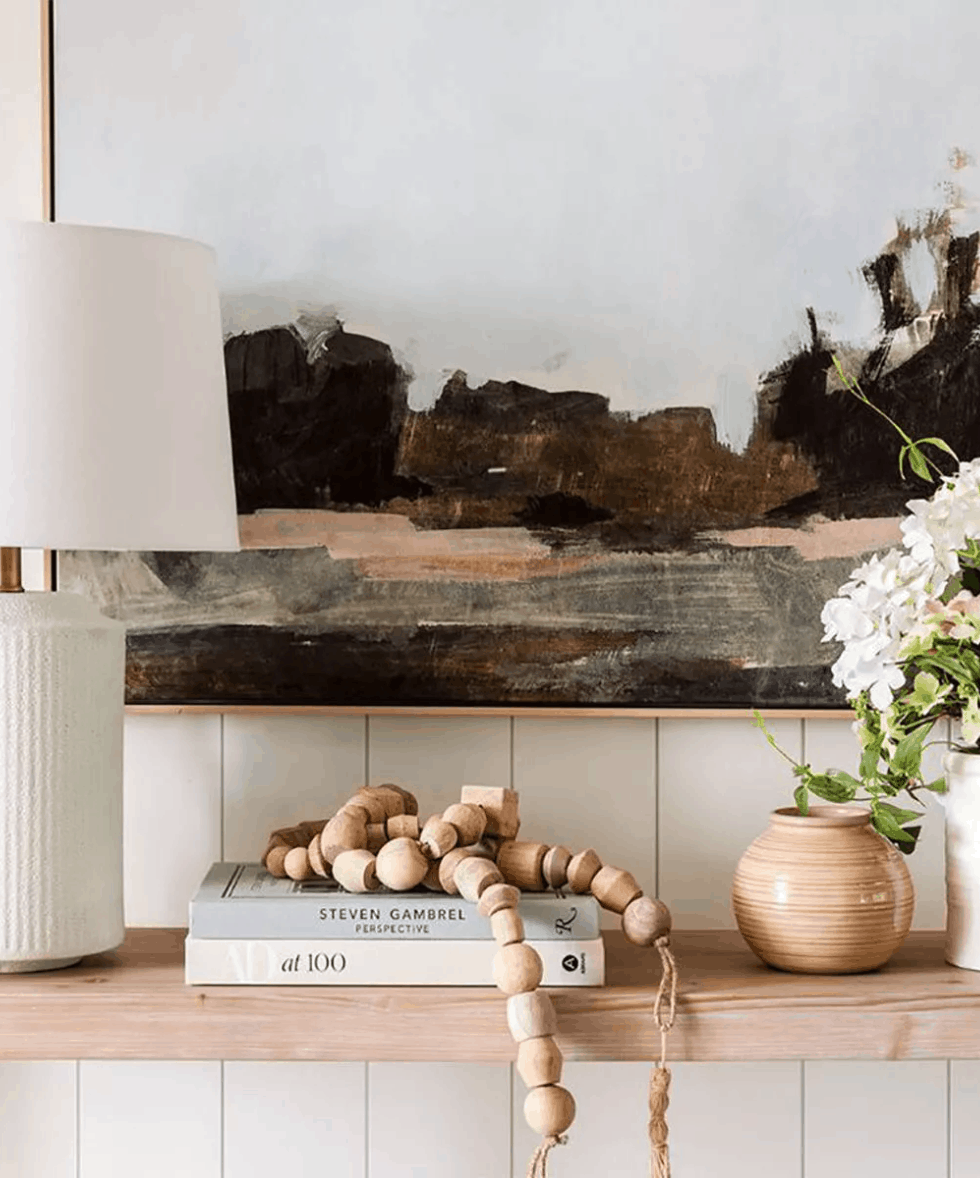 Gorgeous shelf styling // The Studio McGee Target Collection is a Design Dream Come True