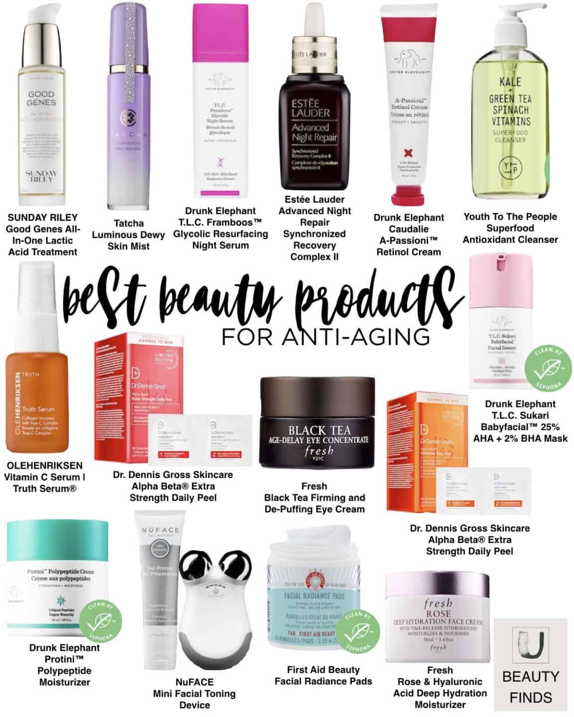 Best Skincare Products for Anti-Aging