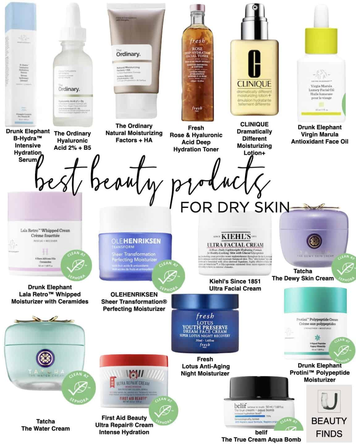 Best Selling Skincare Products for Dry Skin