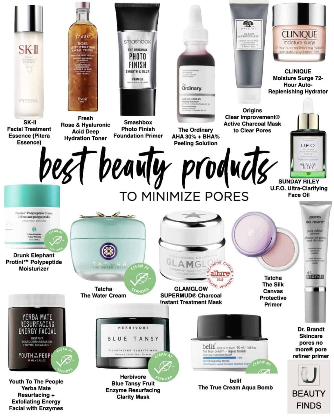 Skincare Best Sellers to Minimize Pores
