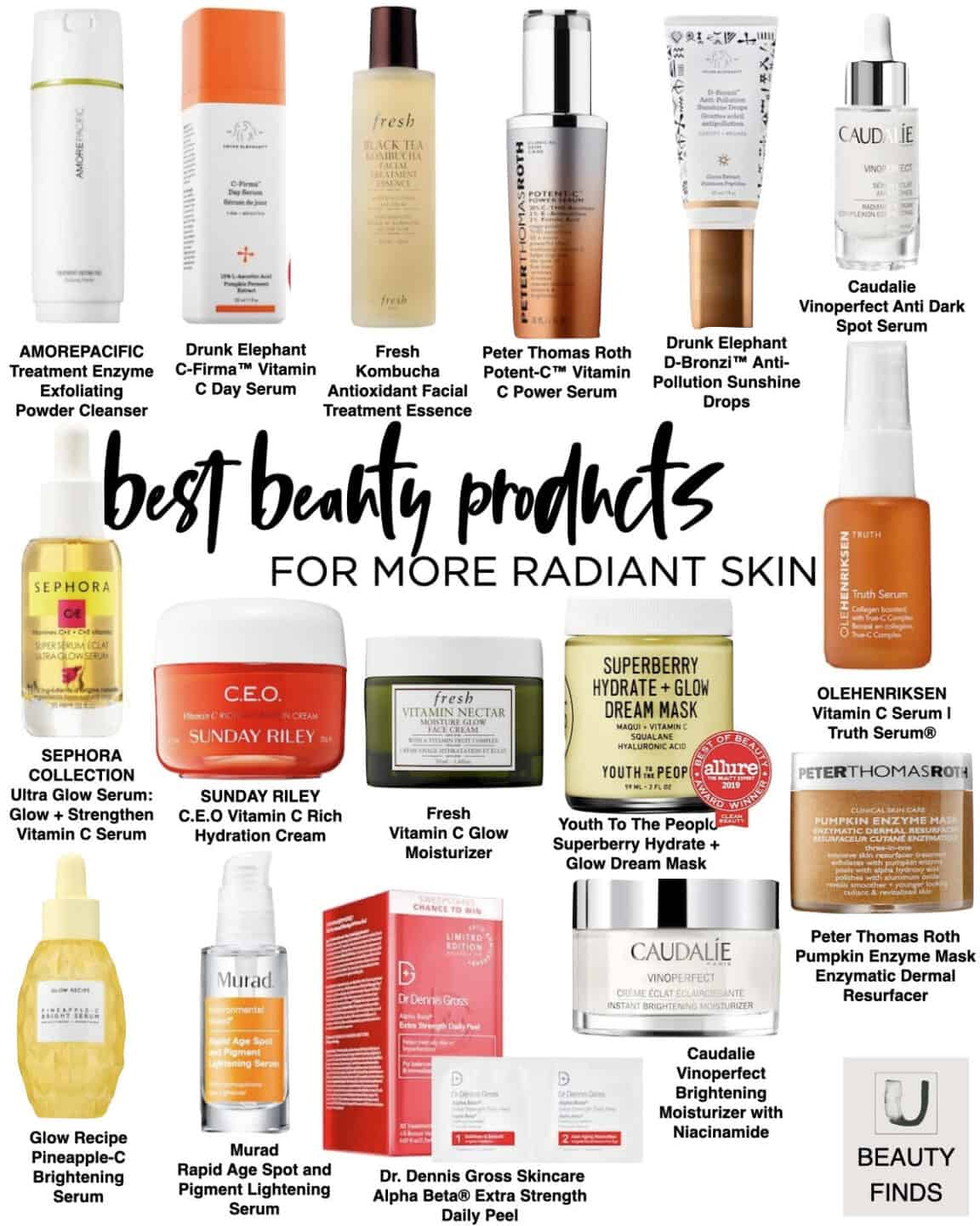 Best Beauty Products for More Radiant Skin