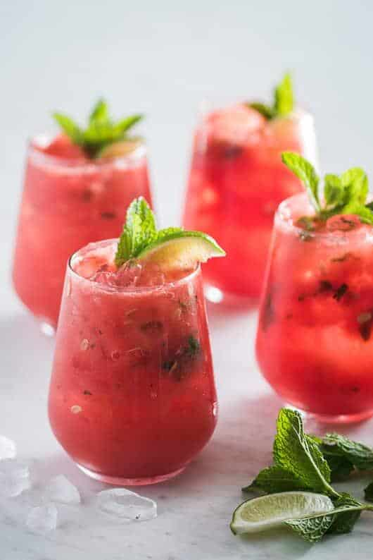 Melon Recipes that look so Refreshing