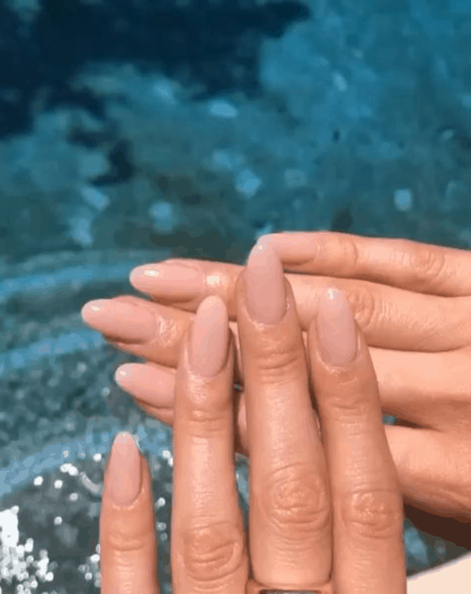 Top Neutral Nail Polish Colors for Every Skin Tone // Sheer Pink Nails