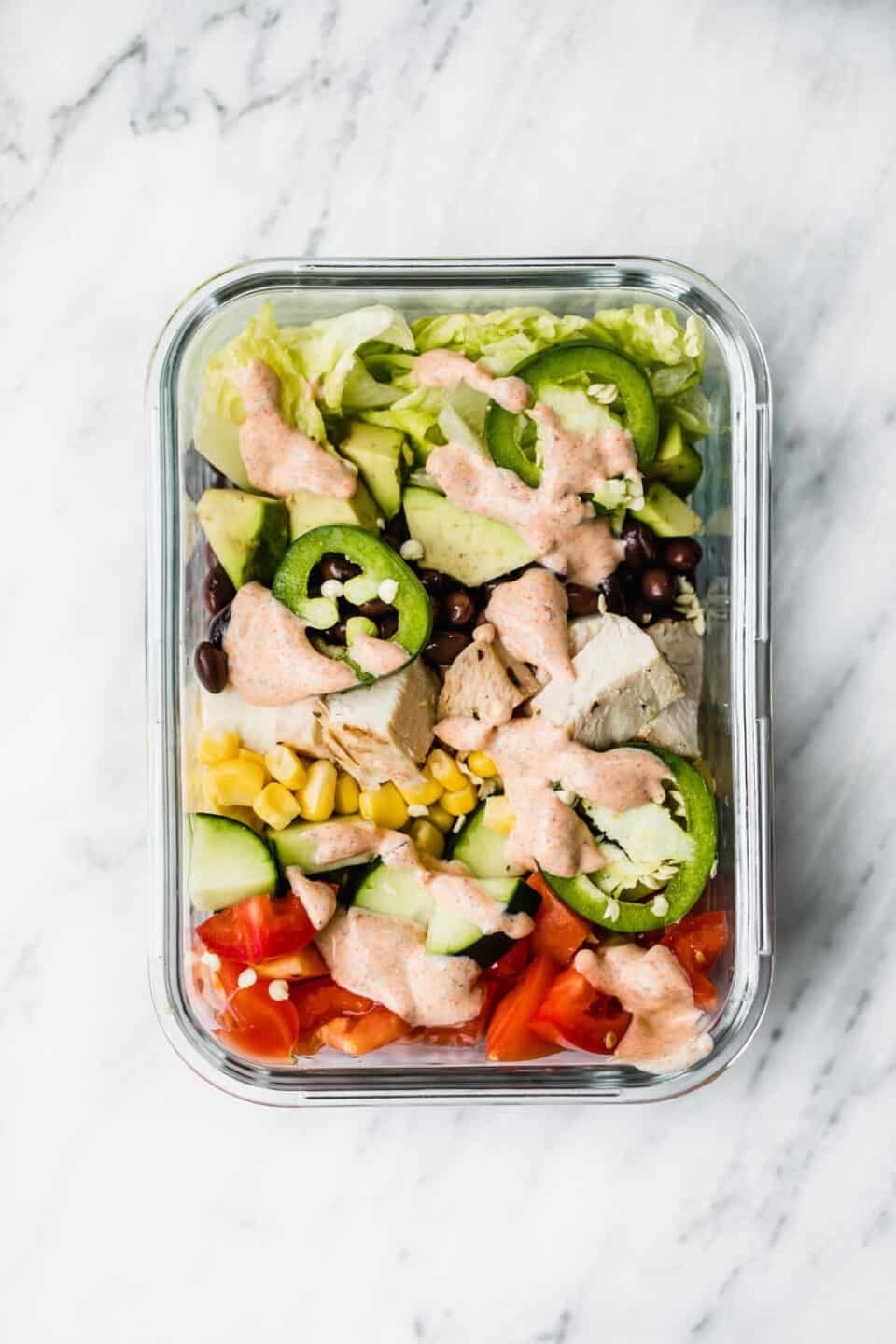 29 Salad Meal Prep Recipes that are Still Filling