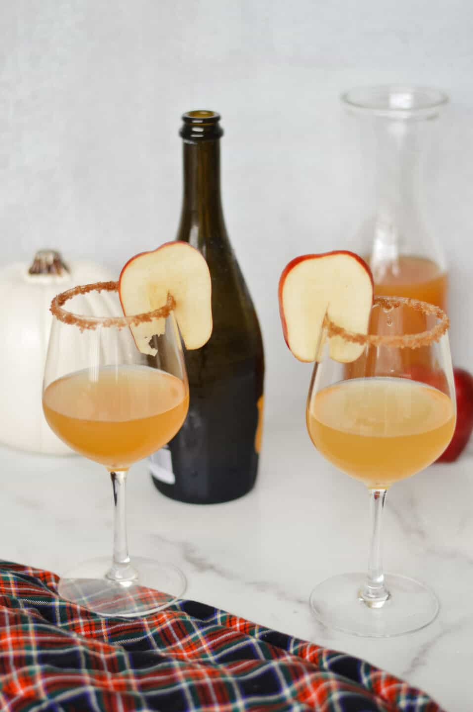 Apple Cider Mimosas Fall Cocktail Recipe