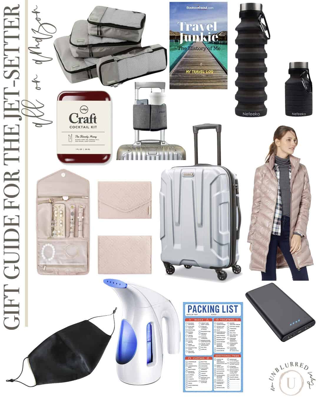 Gift Guide for the Jetsetter on Amazon