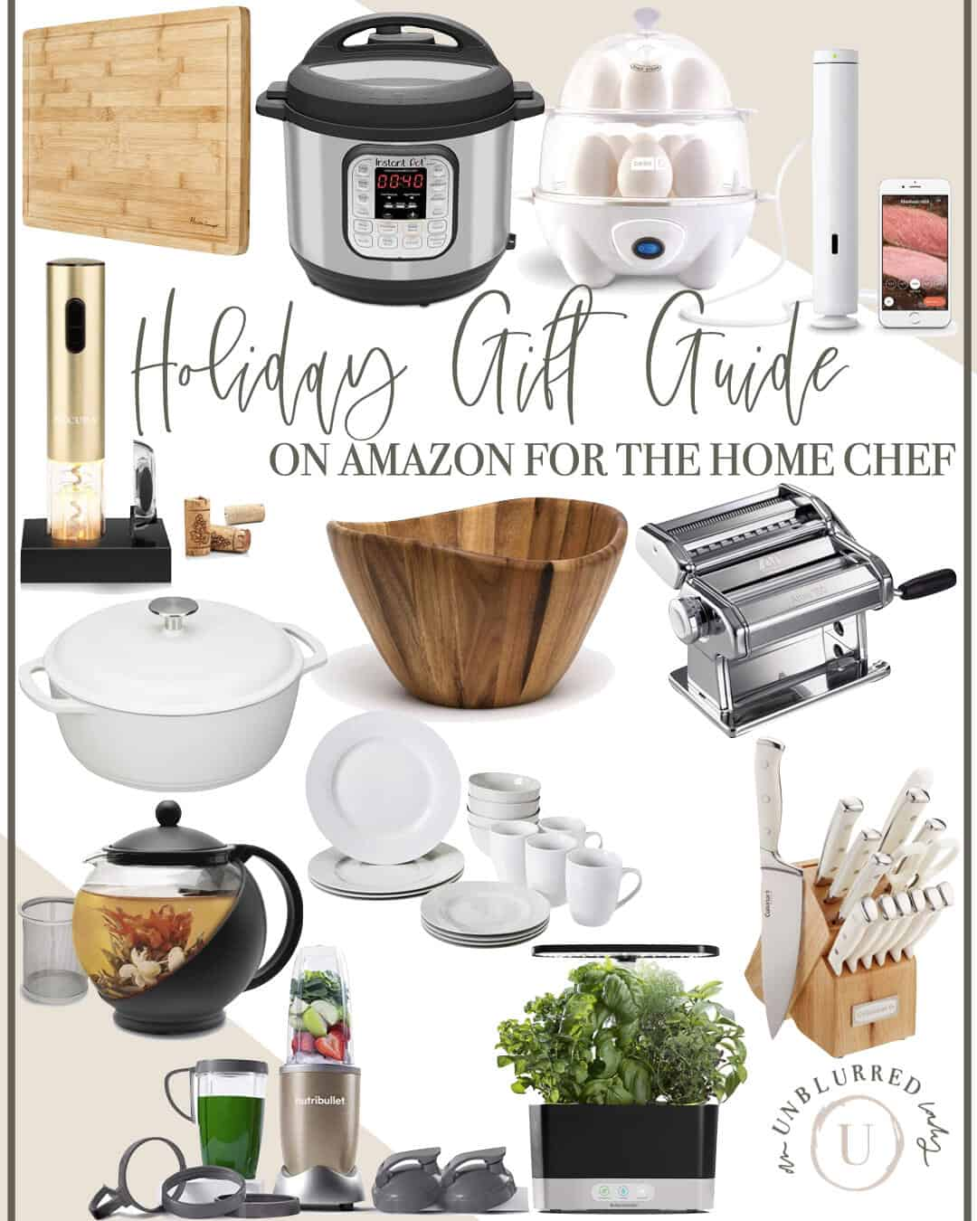Gift Guide for the Chef on Amazon