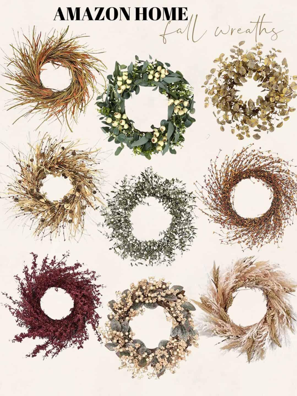 Amazon Door Wreaths for the Fall