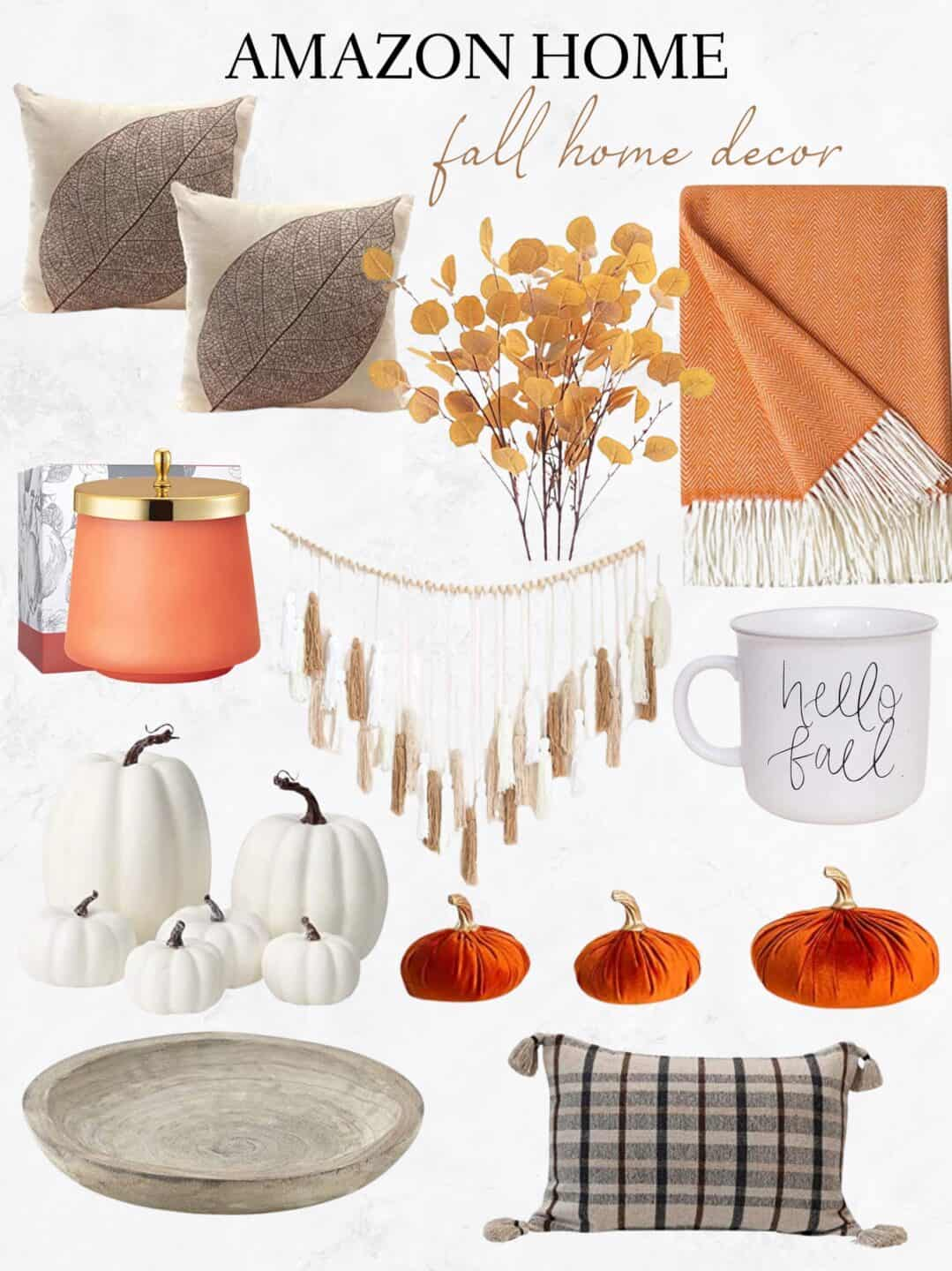 Amazon Home Decor Inspiration for the Fall